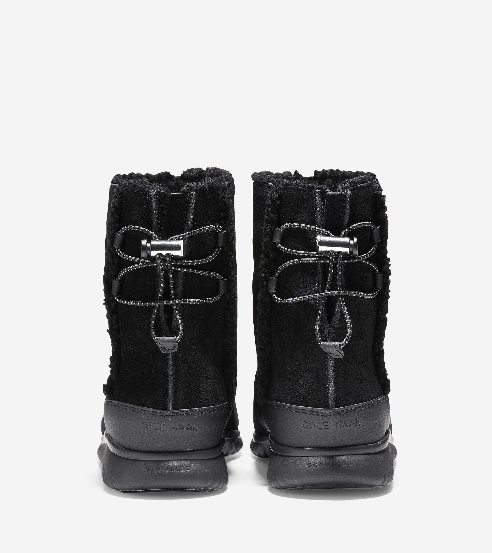 Women s StudioGrand Waterproof Slip-On Boots in Black  9cae7a80d1ab