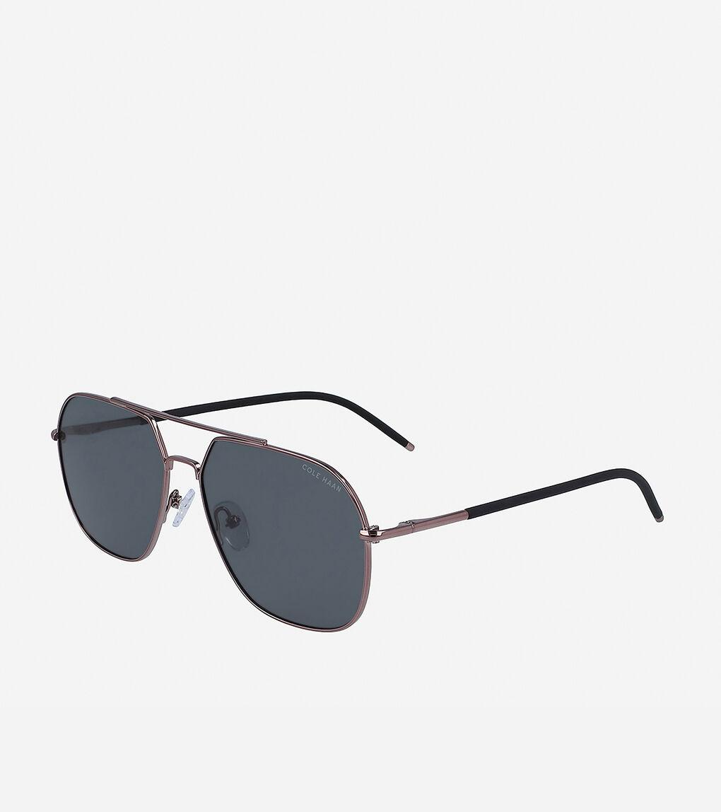 Mens Angular Navigator Sunglasses