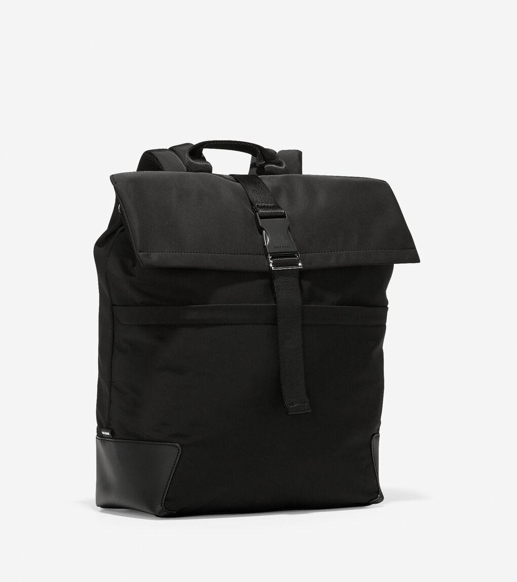 MENS Sawyer Nylon Flap Backpack