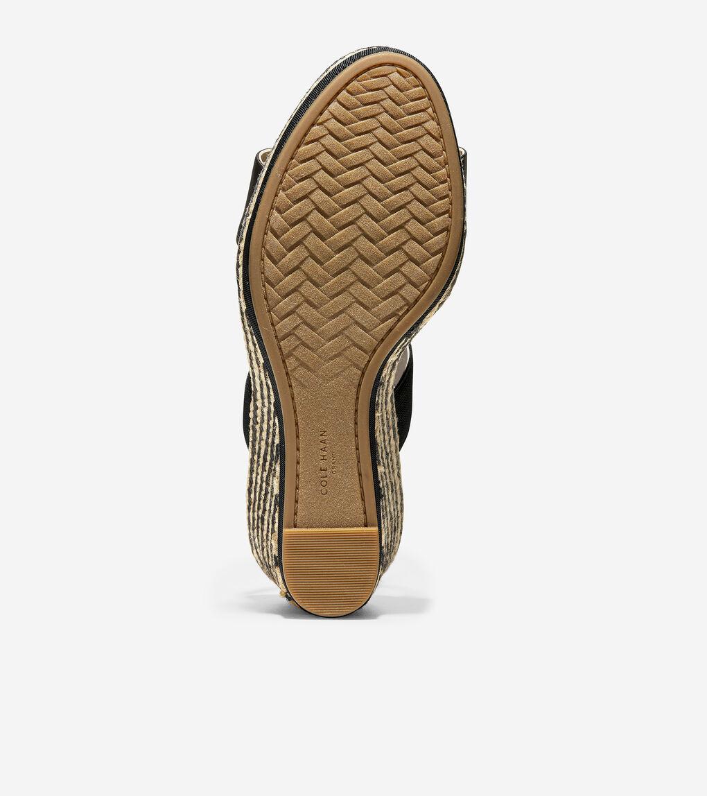 WOMENS Cloudfeel Espadrille Wedge Sandal