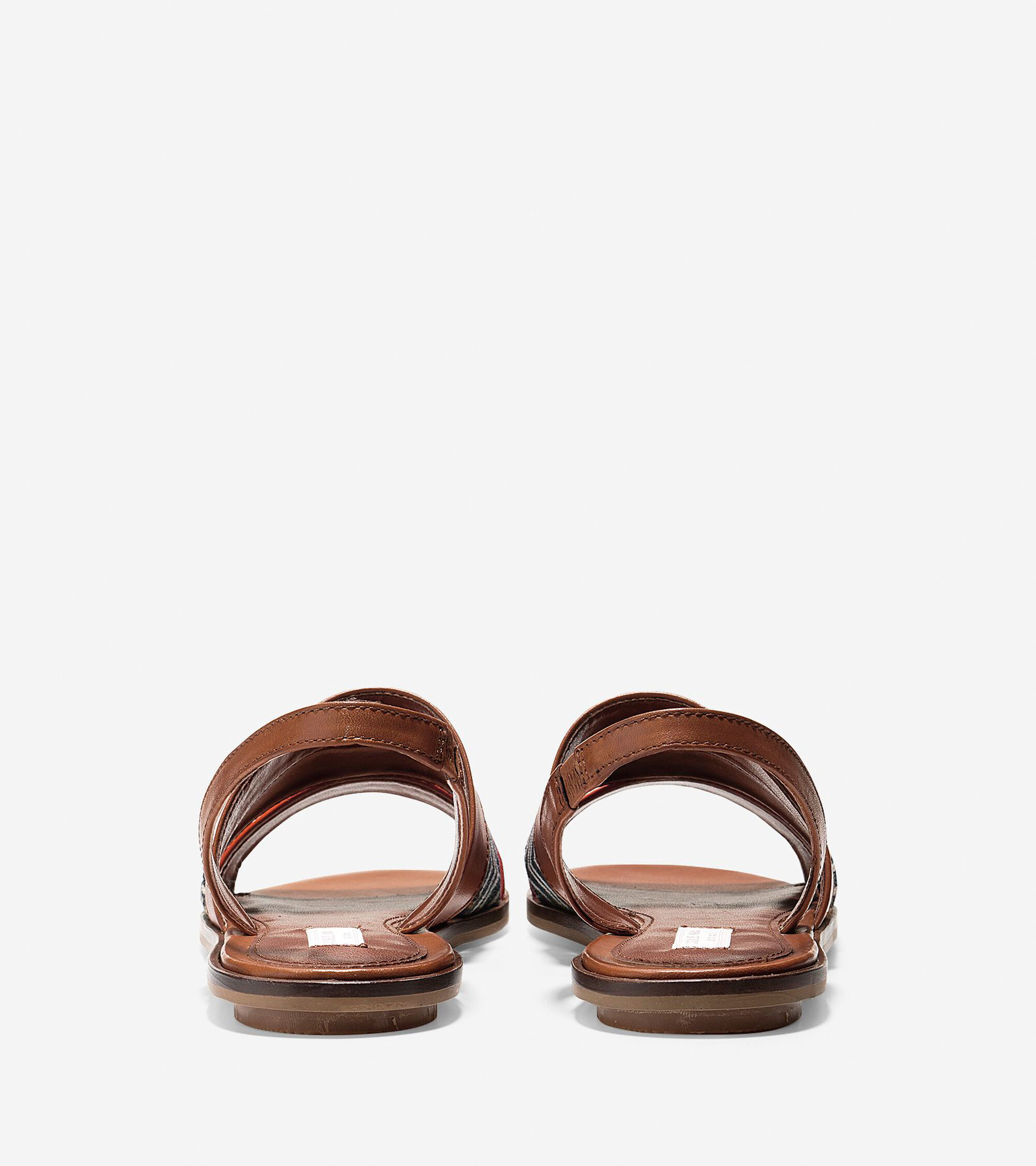 Womens Anisa Sandals In Acorn Leather Cole Haan