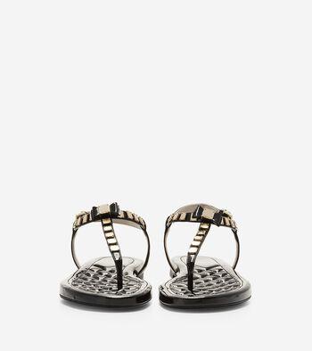 Tali Mini Bow Studded Sandal