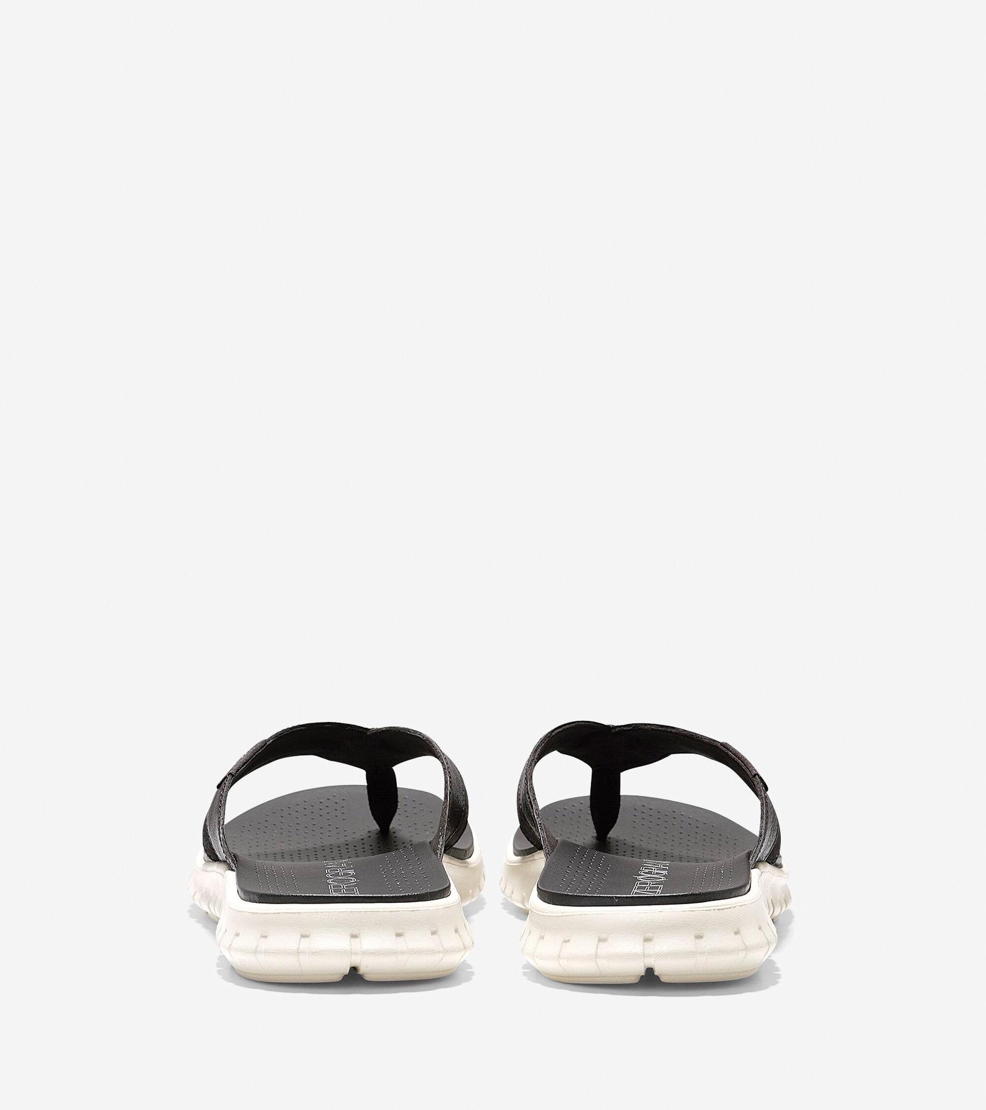 3087b55f6f04d4 Men s ZEROGRAND Fold Thong Sandals in Java