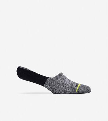 ZERØGRAND Melange Blocked Sock Liner
