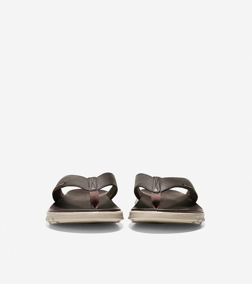 Mens ZERØGRAND Thong Sandal