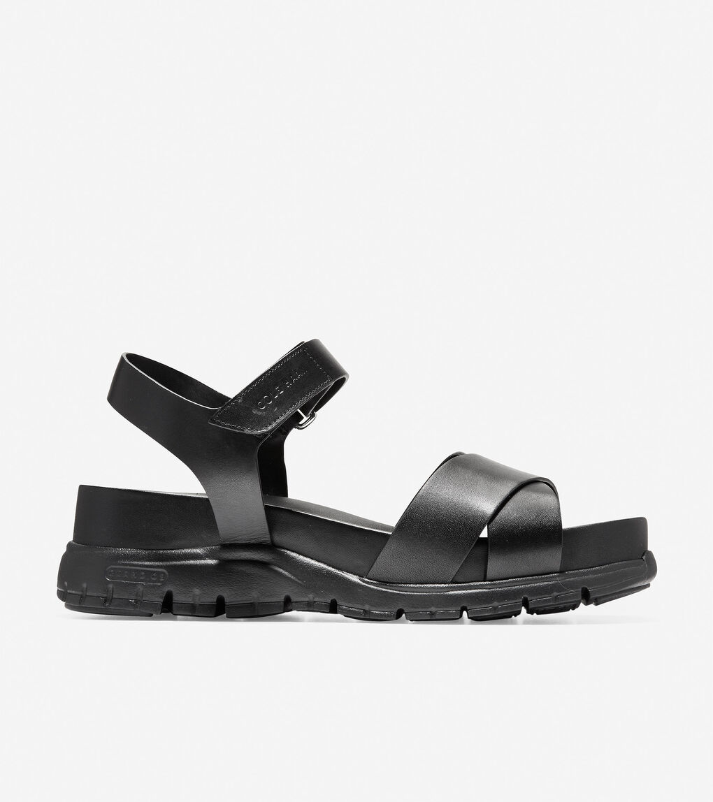 Womens ZERØGRAND Criss Cross Sandal