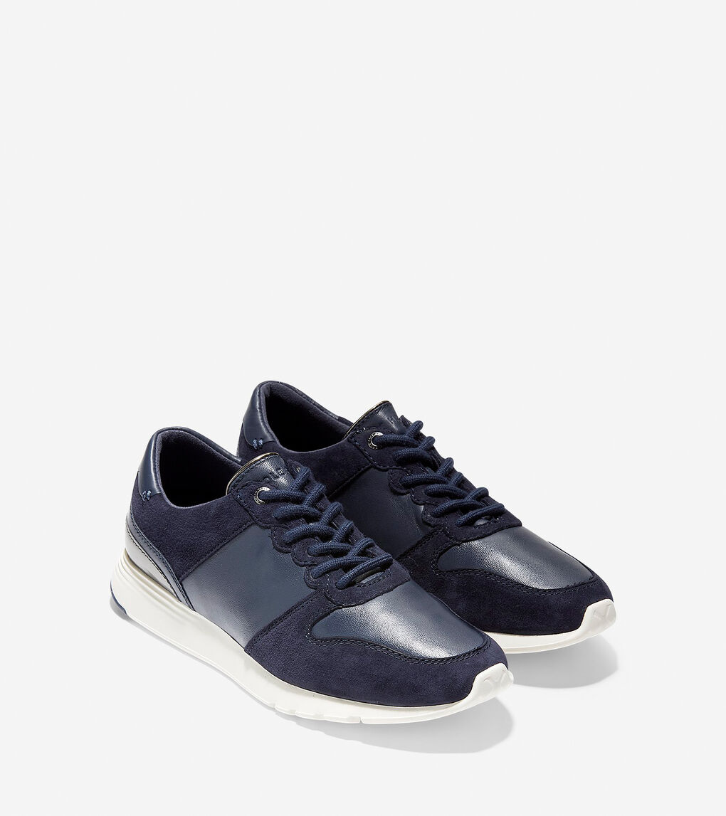 Womens Grand Crosscourt Wedge Sneaker