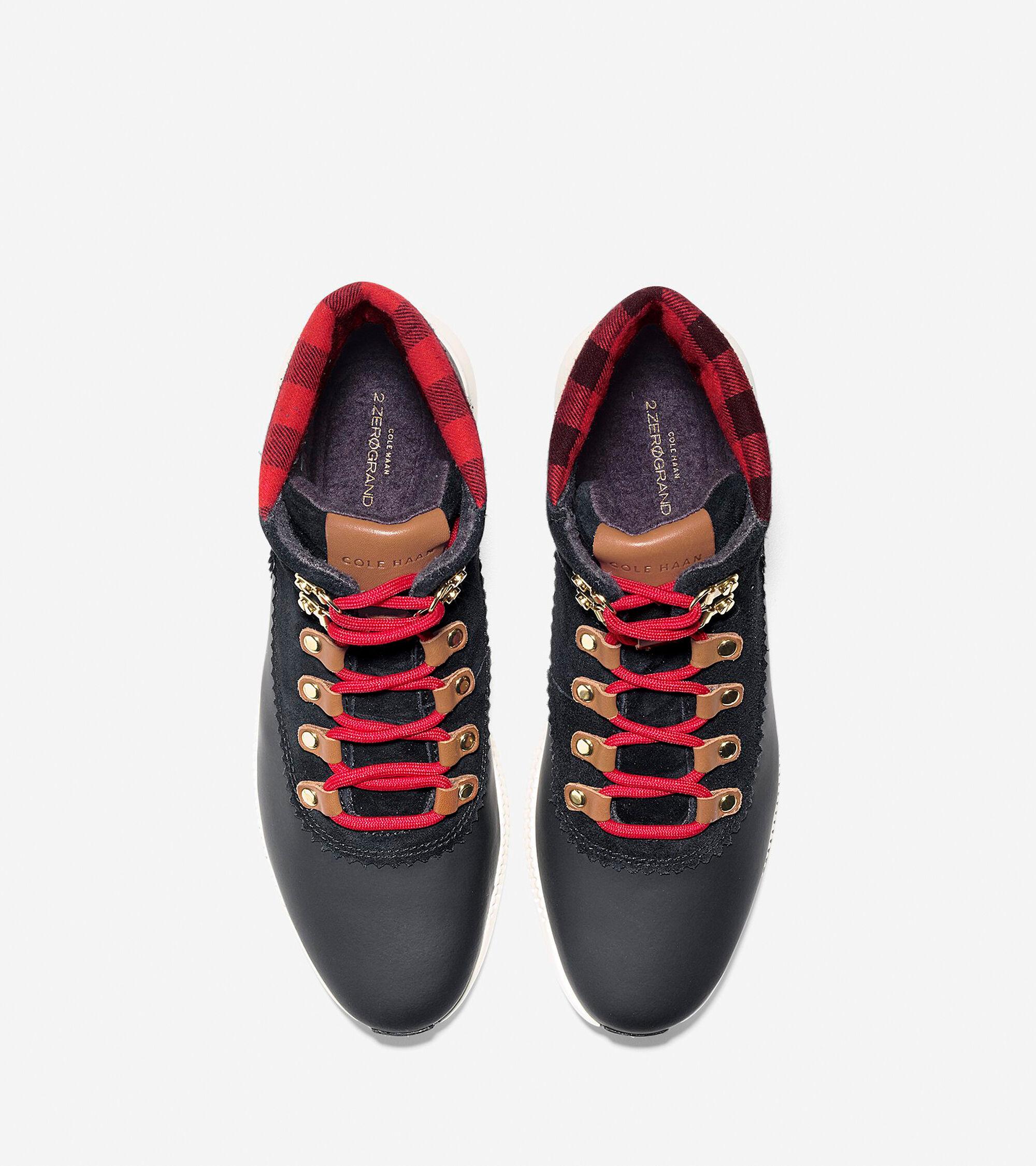 305468d8afa1d Women's 2.ZEROGRAND Waterproof Hiker Boots in Black-Buffalo Check ...