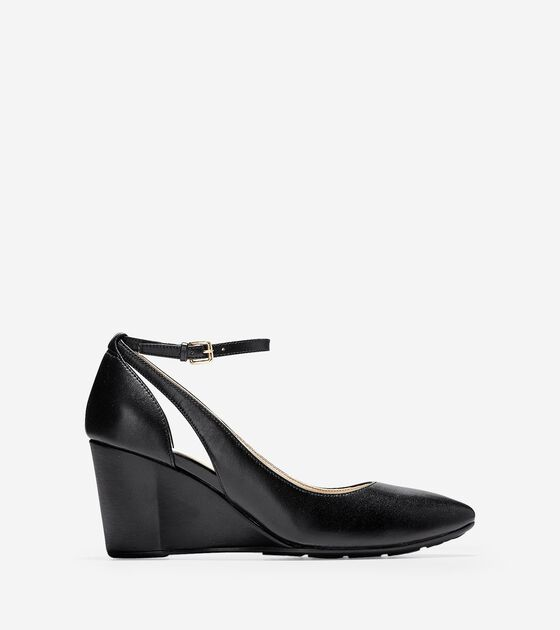 Heels & Wedges > Lacey Wedge (75mm)