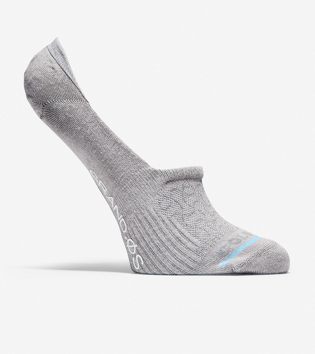 Womens Grand.ØS Auxetic Texture No-Show Socks