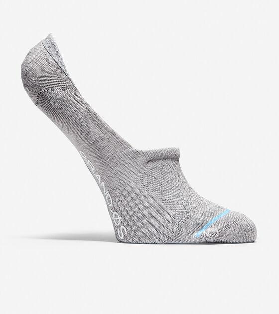 Socks & Tights > Grand.ØS Auxetic Texture No-Show Socks