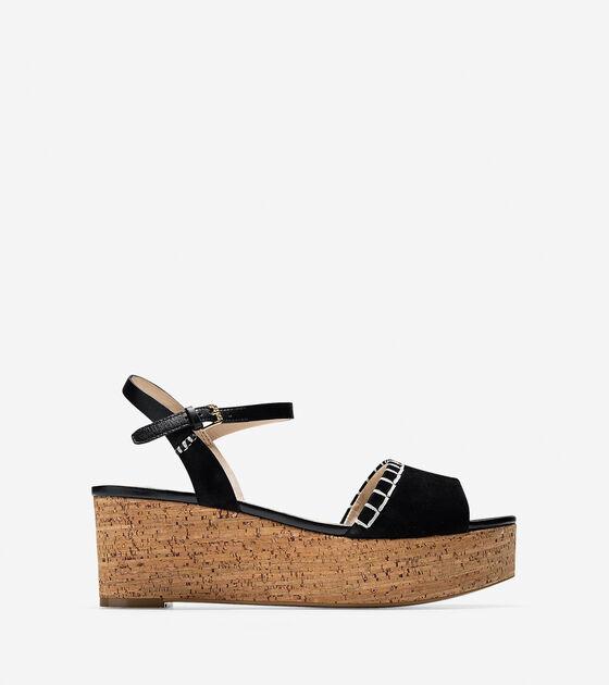 Shoes > Steffi Wedge Sandal (60mm)