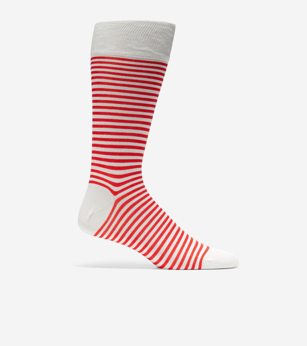 MENS Simple Stripe Crew Socks
