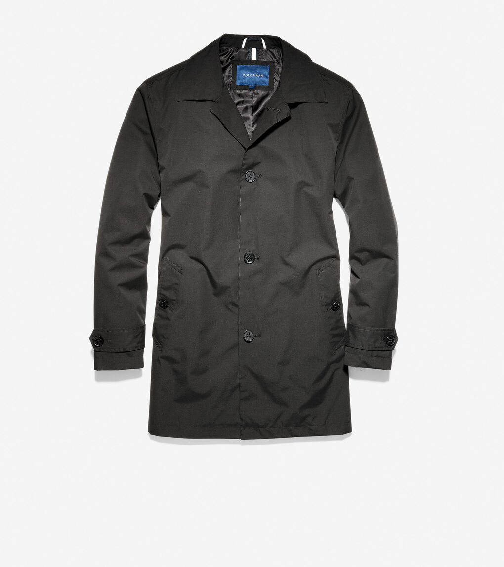 MENS Stand Collar Rain Jacket