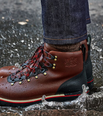 Men's ZERØGRAND Explore Waterproof Hiker Boot