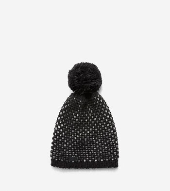 Chessboard Tuck Stitch Beanie