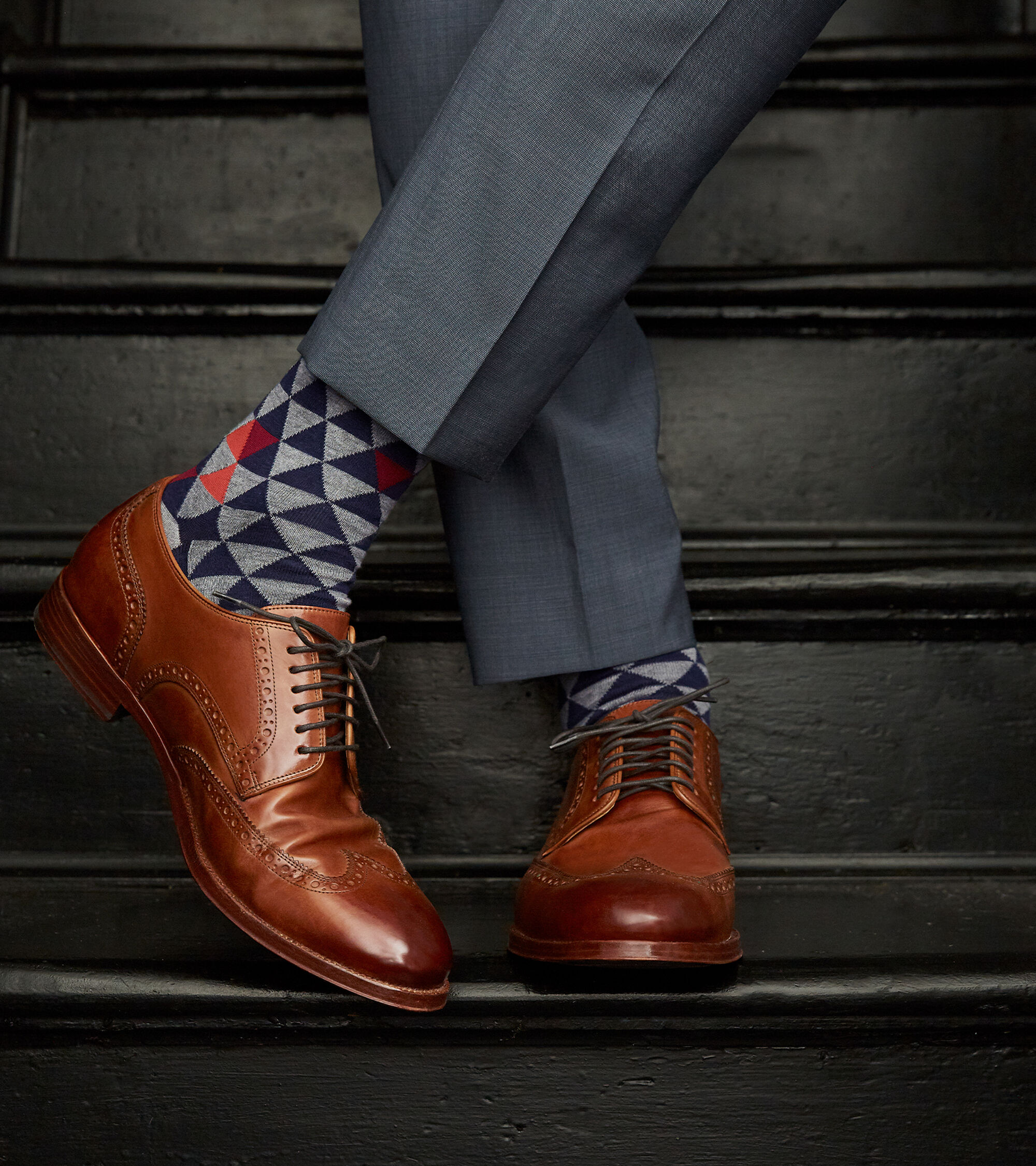 928a1c537 ... Cole Haan American Classic Gramercy Derby Wingtip Oxford ...