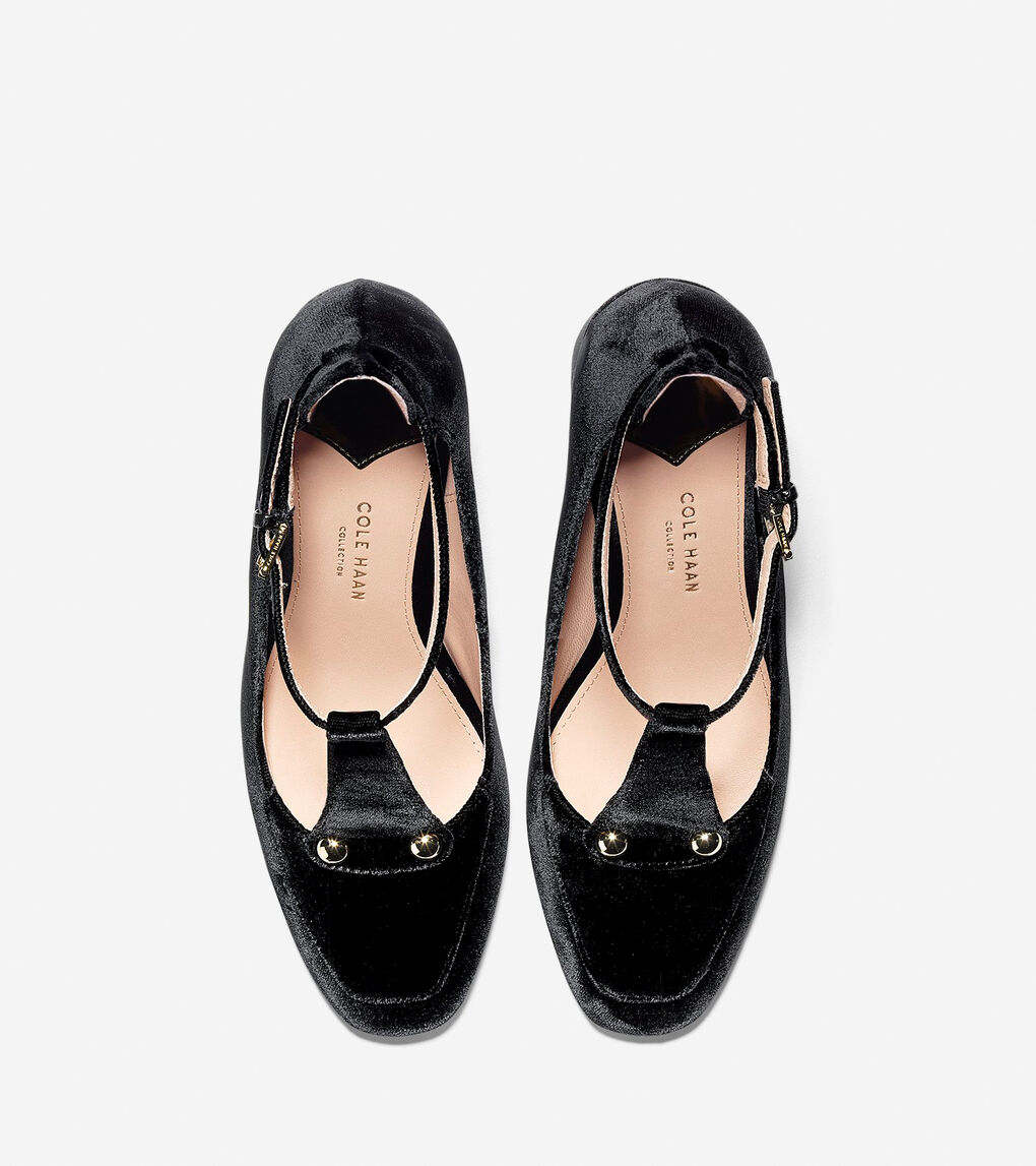 Womens Collection T-Strap Pump (85mm)