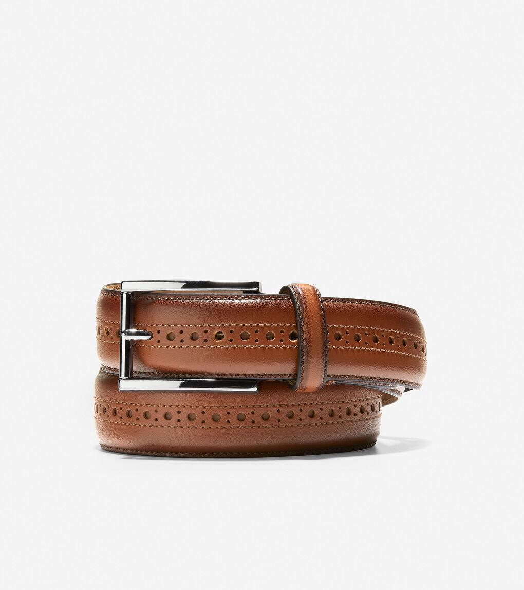 MENS Brogued 32mm Belt