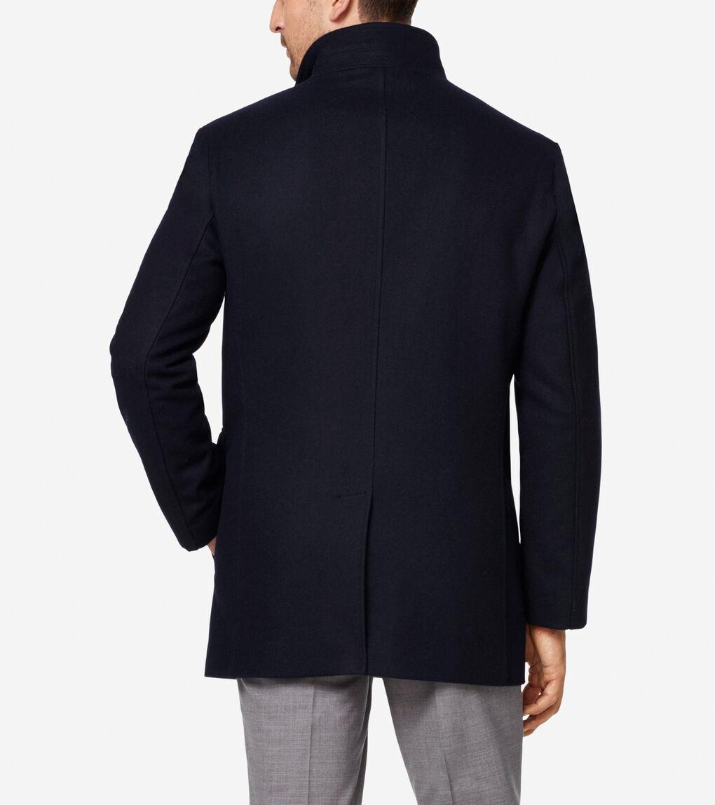 Mens Melton 3-in-1 Wool Topper
