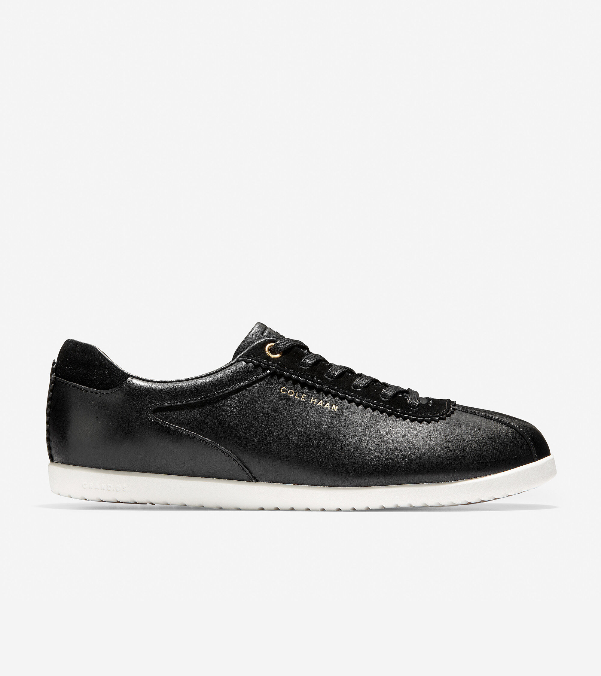 Black Leather-optic White | Cole Haan