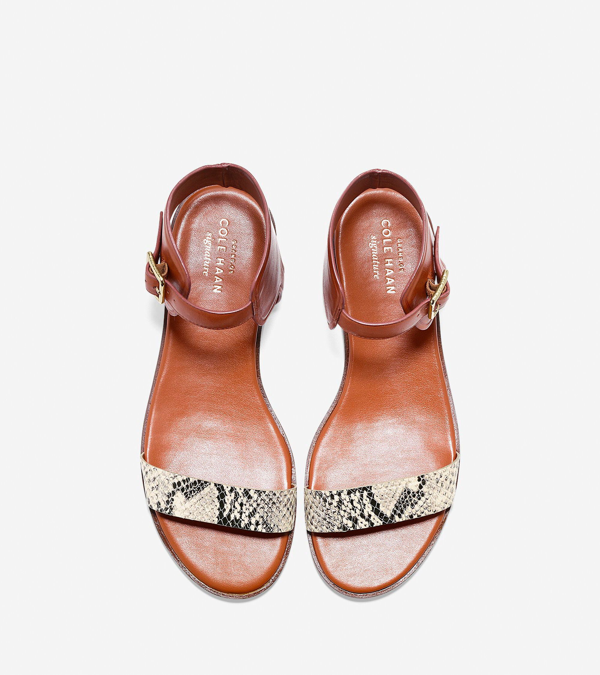 df2cfc08cf2 Womens Barra Sandals in Camello Leather