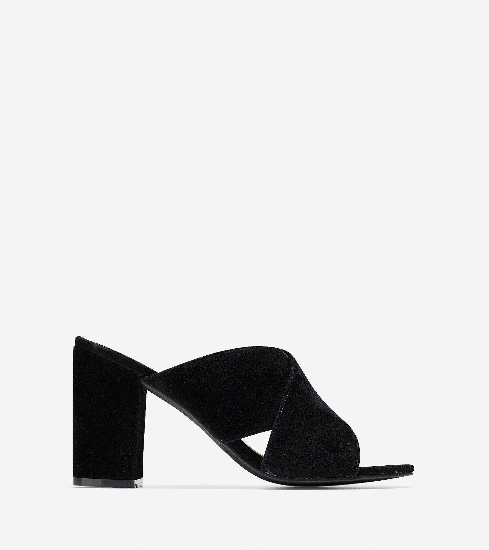 cc908123209 Women s Gabby Sandals (85mm) in Black Suede