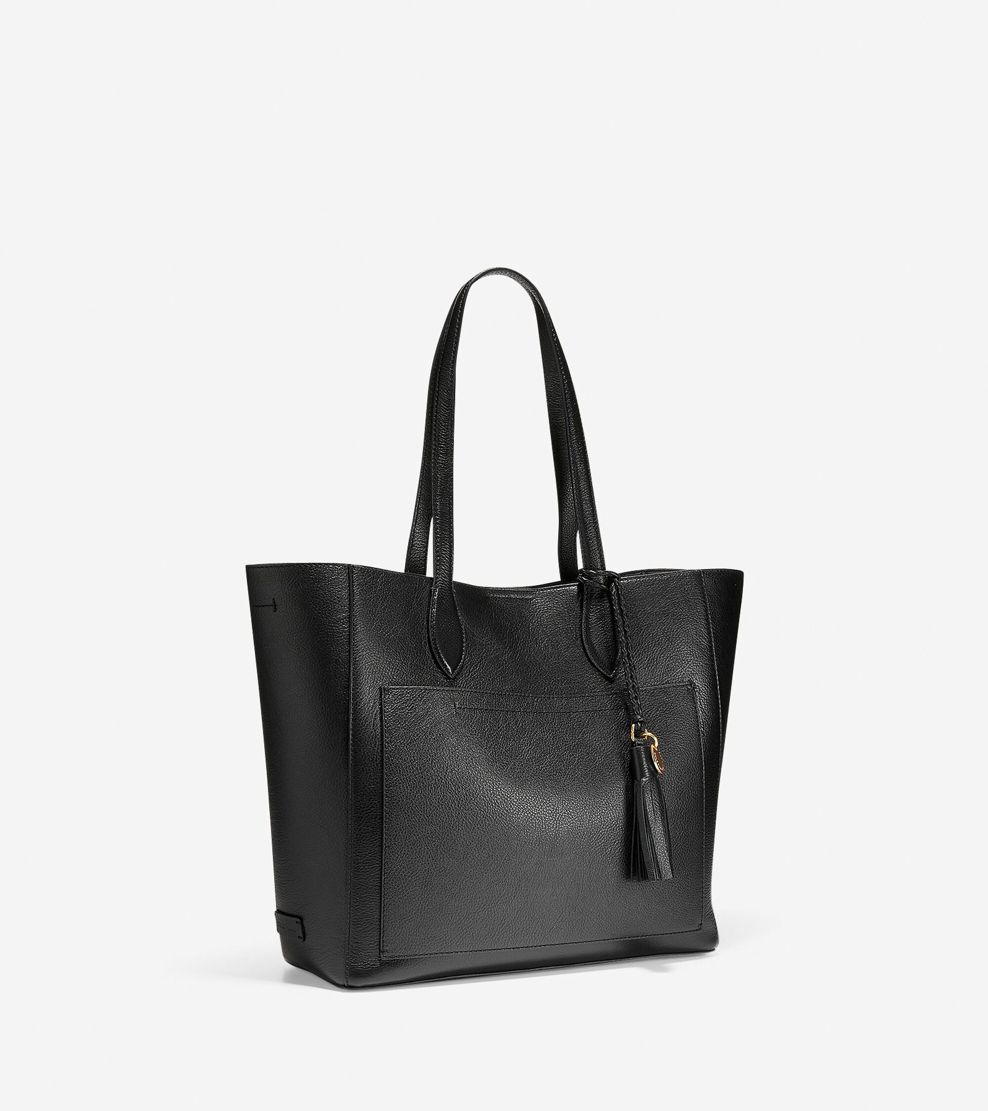 Women s Piper Tote in Black   Cole Haan fc370c0cac