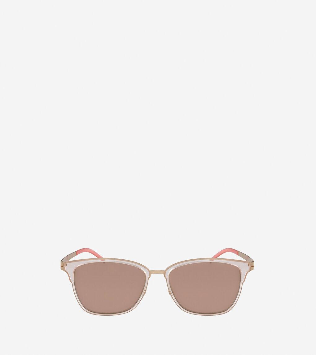 Womens StudiøGrand Rectangle Sunglasses
