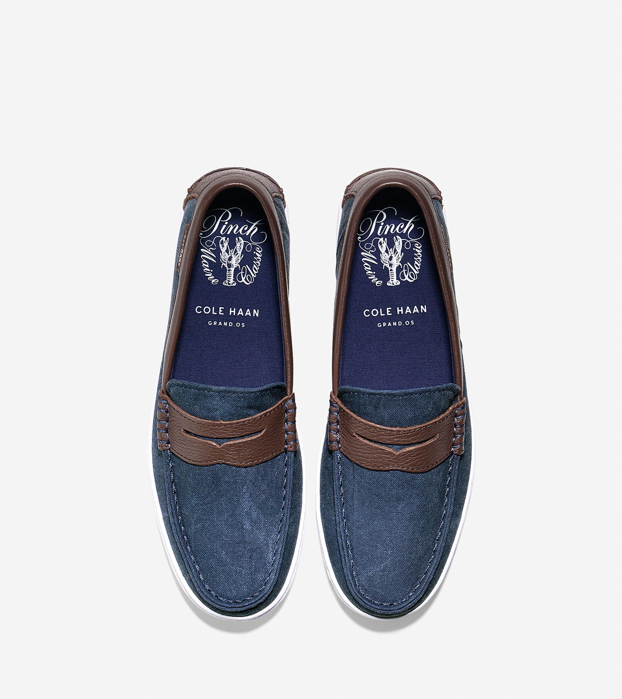 d1ce75bd7fa Mens Pinch Textile Weekenders in Blazer Blue-Chestnut Textile