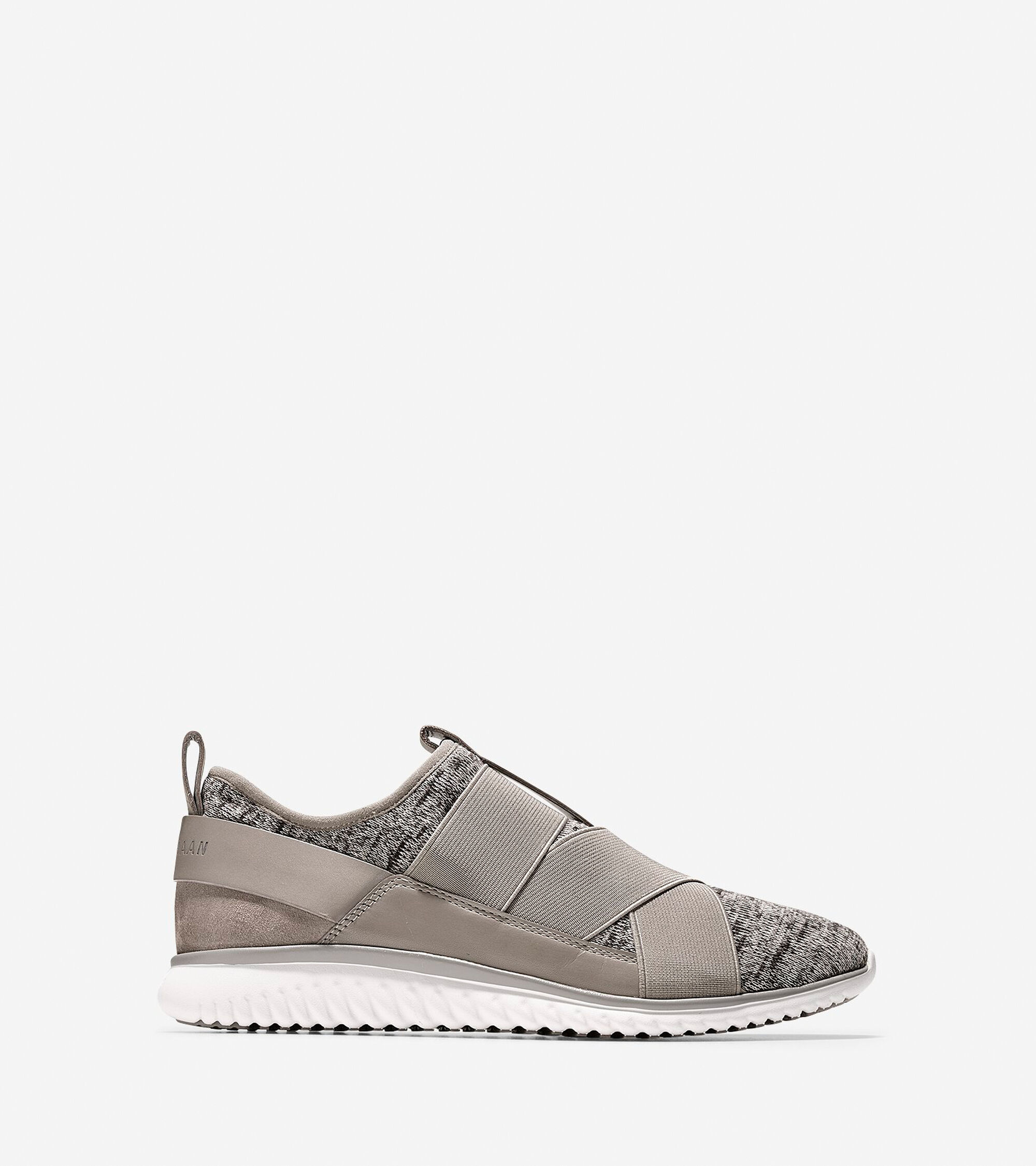 Cole Haan Womens StudioGrand Knit Cross-Strap Sneaker