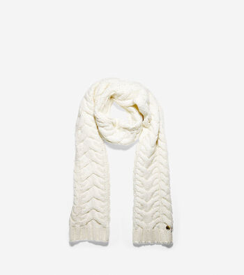 Lofty Cable Muffler Scarf