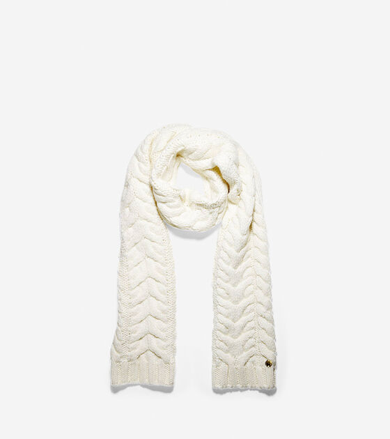 Accessories > Lofty Cable Muffler Scarf