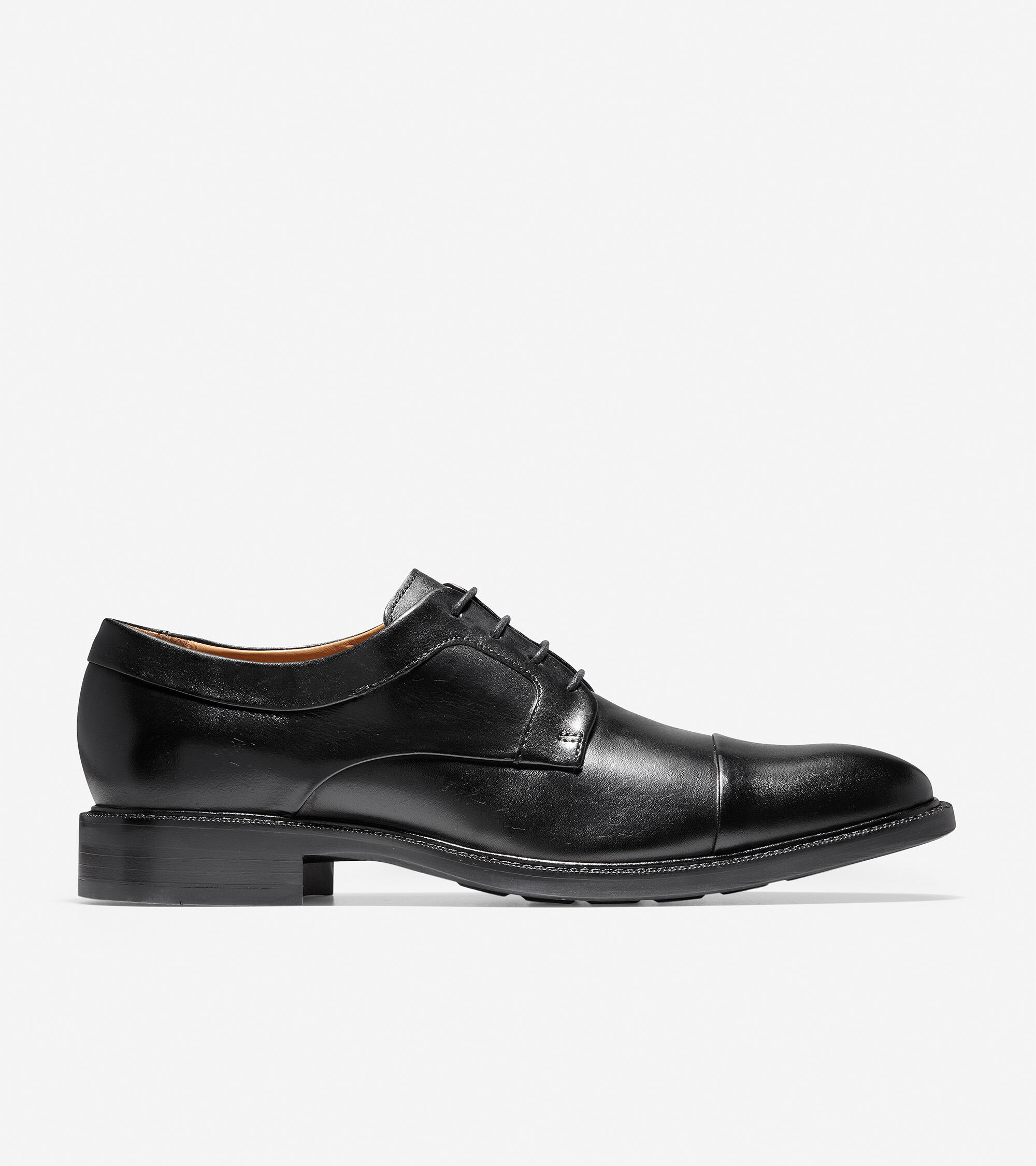3095c36f270 Mens Warren Cap Toe Oxfords in Black