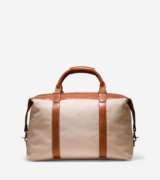 Mens Pinch Weekender Duffle in Ecru   Bags  e926876564d26