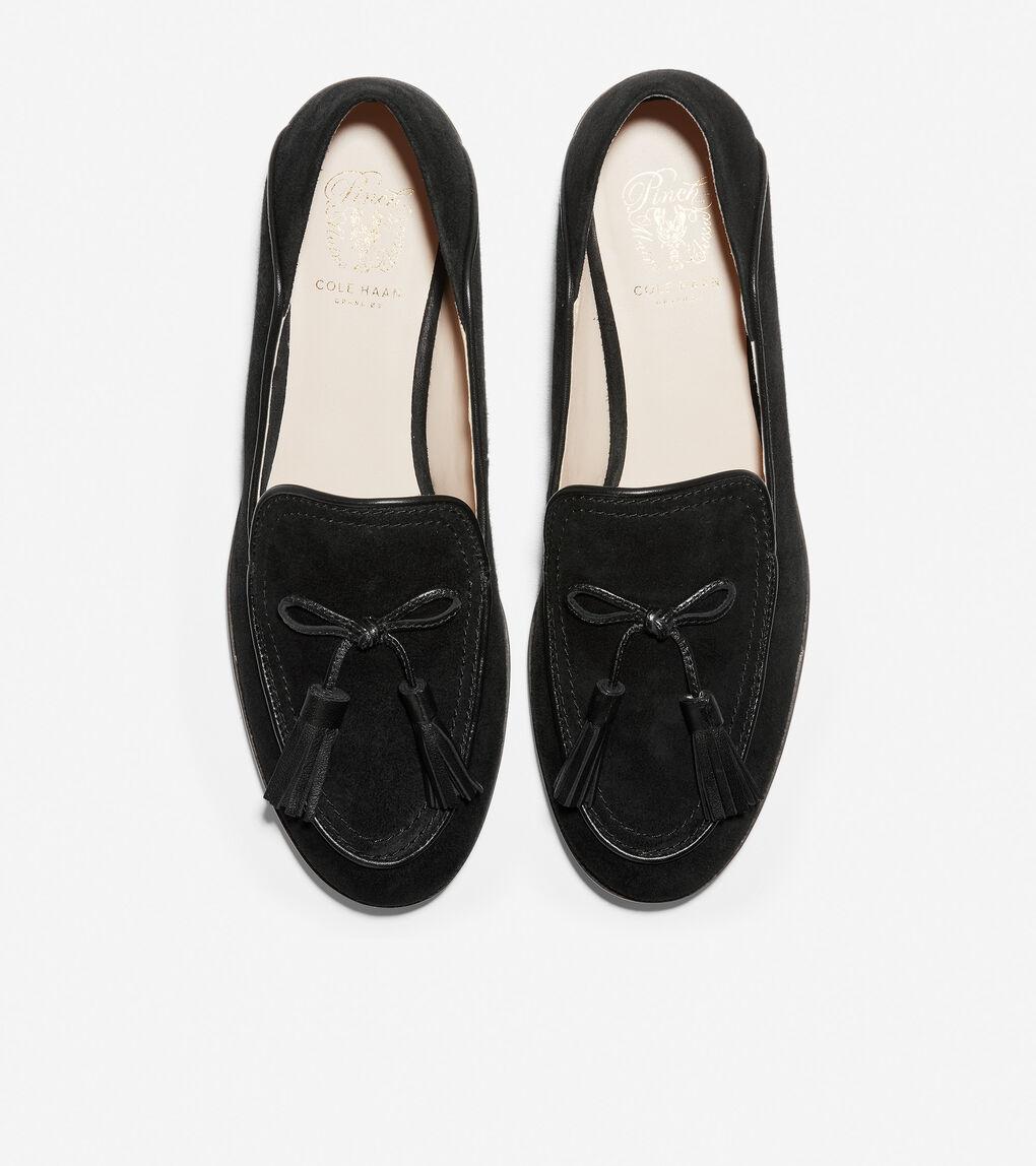 Womens Pinch Soft Tassel Loafer