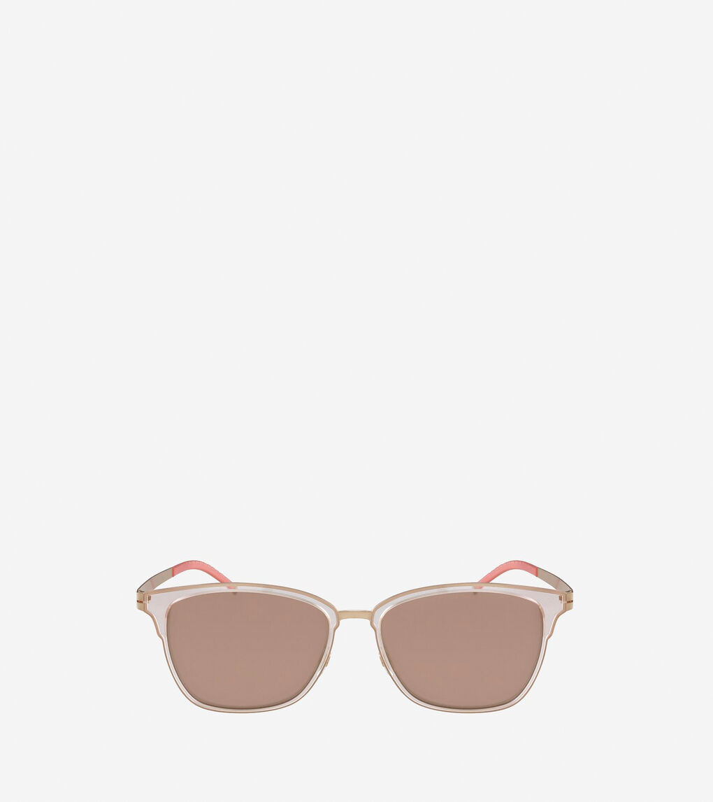 Womens StudiøGrand Rectangle Sunglasses