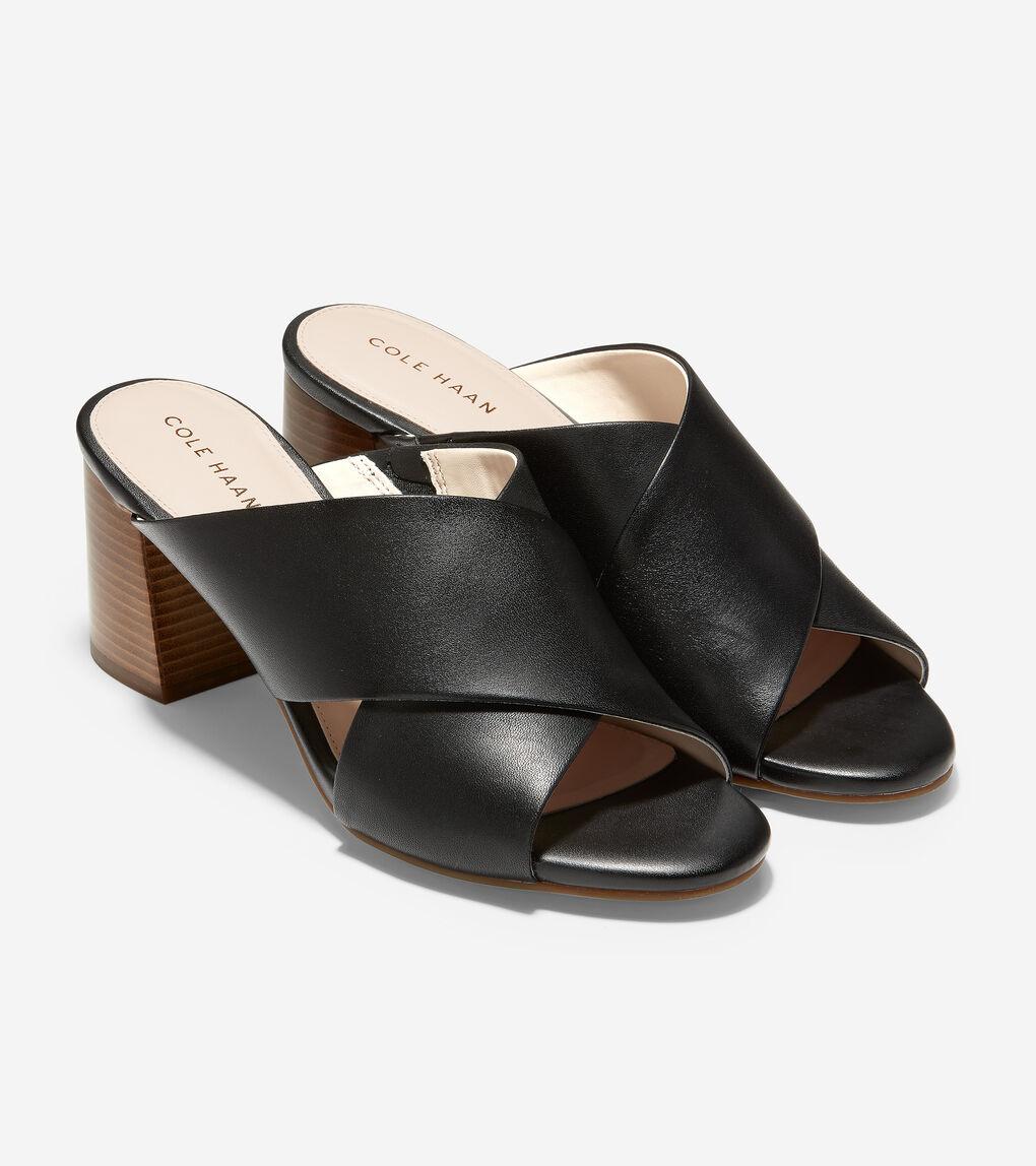 WOMENS Dakota Criss Cross Mule Sandal