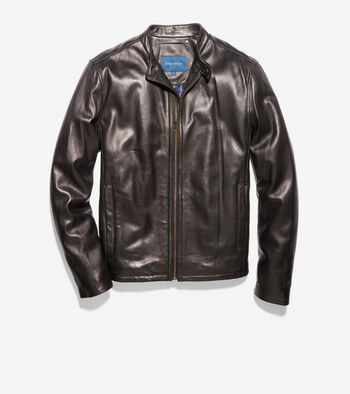 Smooth Lamb Moto Jacket