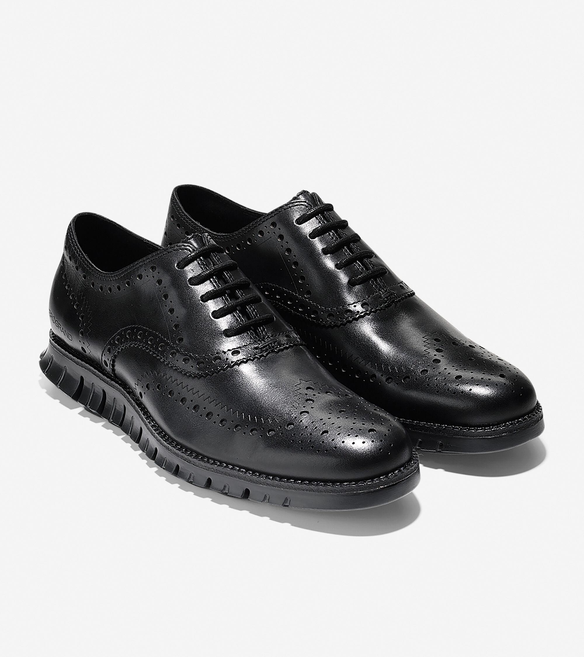 all black oxfords