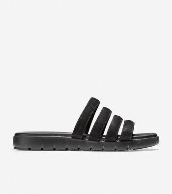df76566ed7 Women's 2.ZEROGRAND Slide Sandals in Gold Metallic | Cole Haan