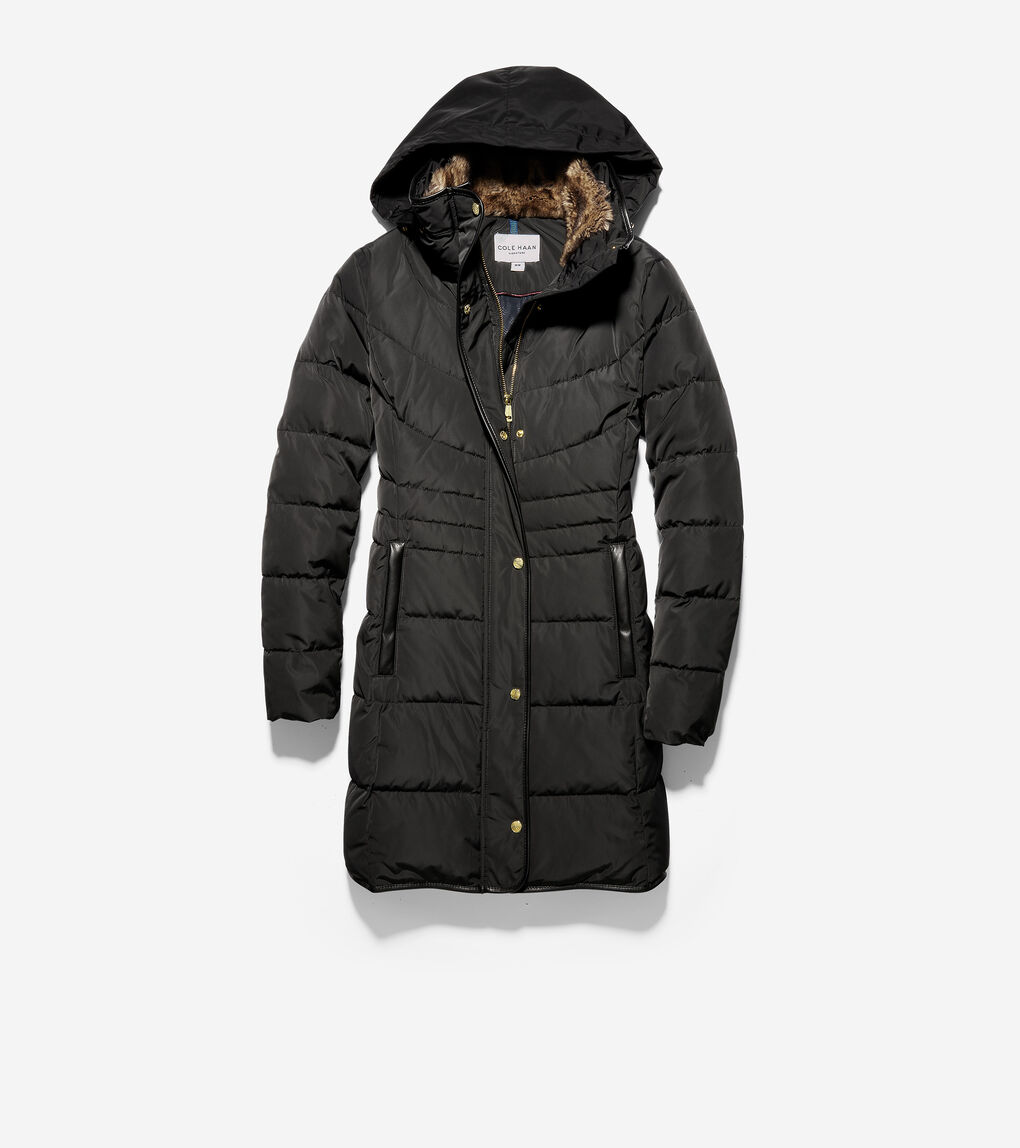 Womens Quilted Down Jacket