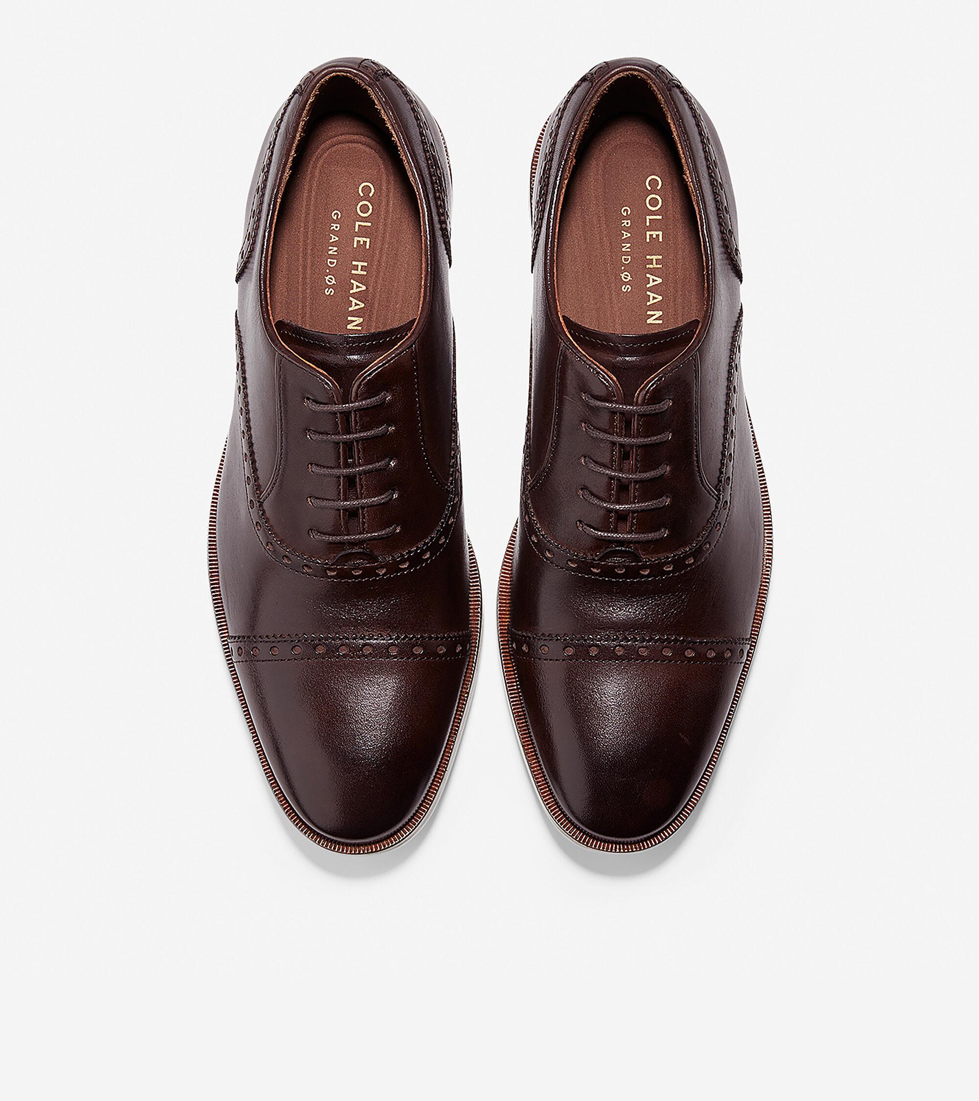 4d71e08033ca30 Hamilton Grand Cap Toe Oxfords in Dark Brown