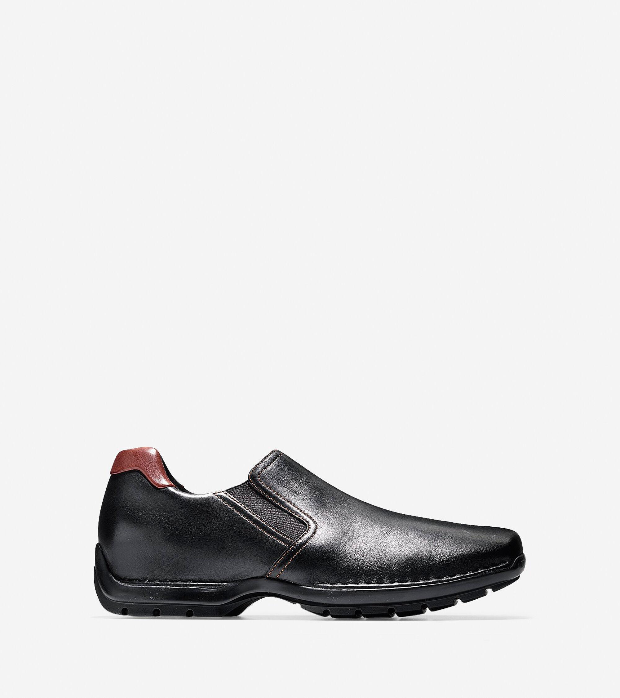 639cedb8ee9 Cole Haan Zeno Slip-On Loafer in Black   ColeHaan.com