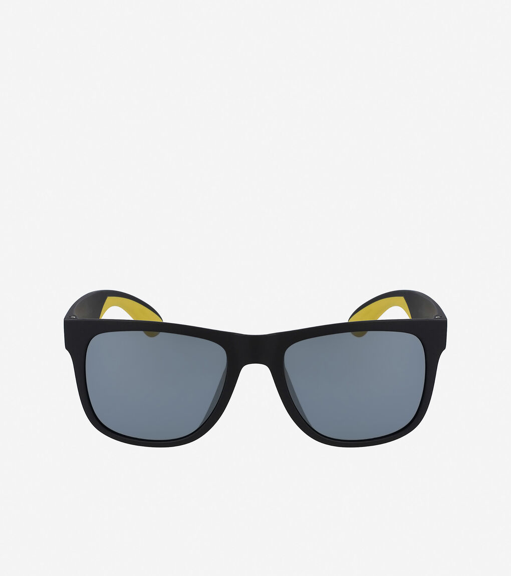 Mens ZERØGRAND Sport Rectangle Sunglasses