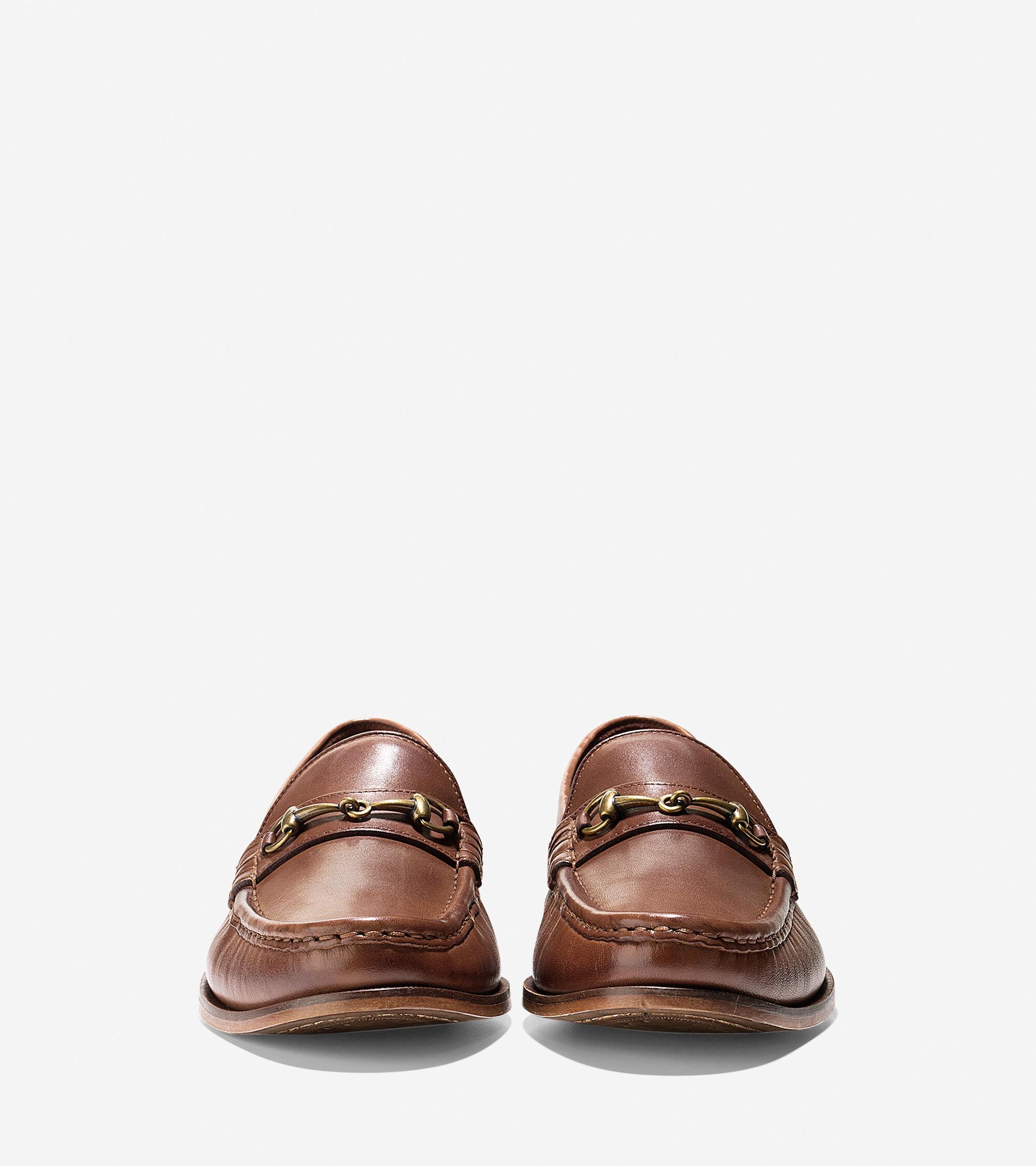 96b76d670e2 Mens Pinch Gotham Bit Loafers in British Tan