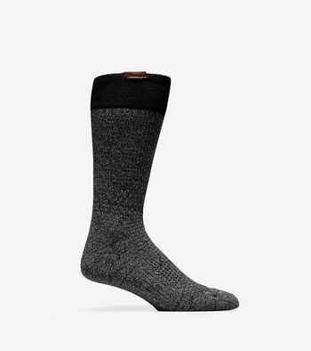 Grand.ØS Popcorn Stitch Crew Socks