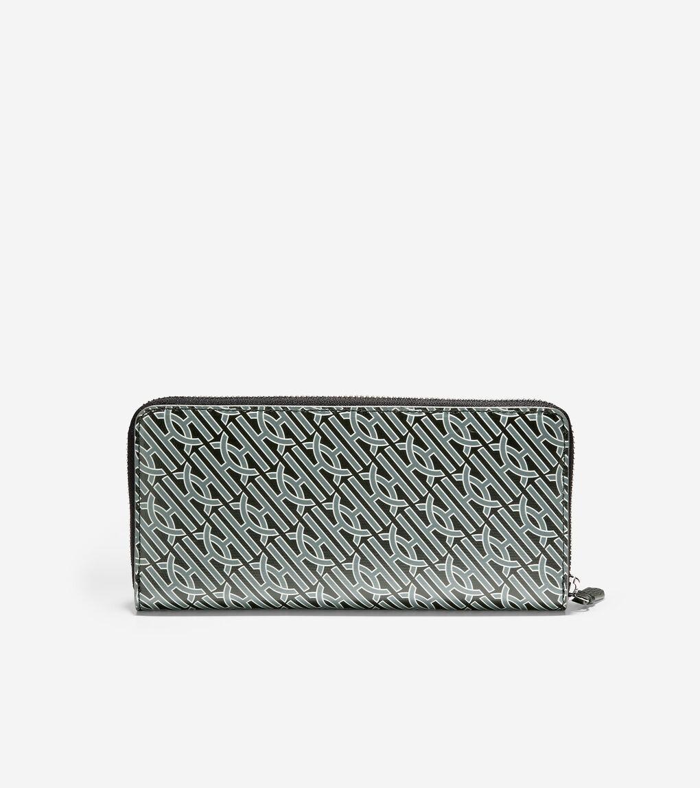 WOMENS Canvas Zip Continental Wallet