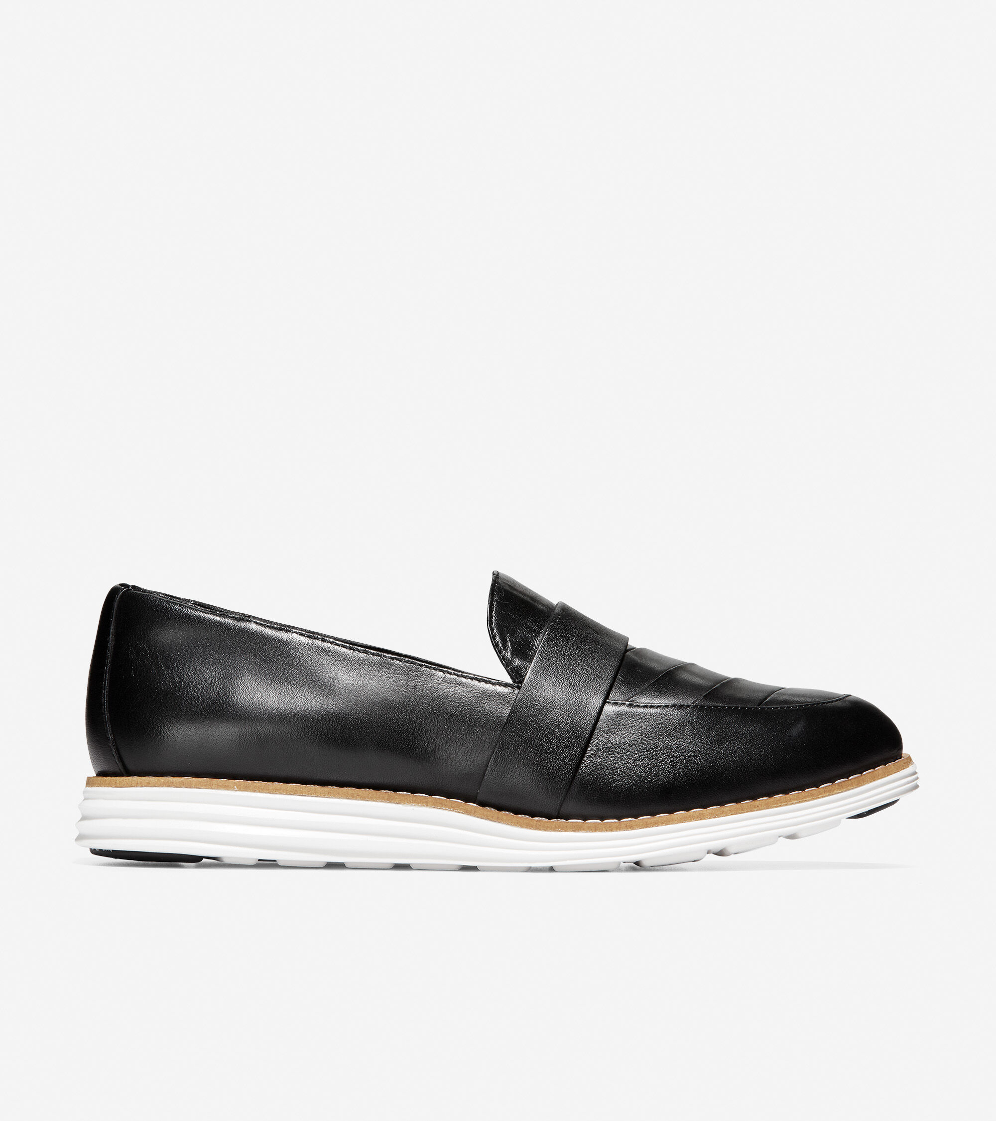 Loafer in Black Leather | Cole Haan
