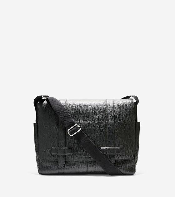 42ad70716854 Barrington Messenger in Black   Mens Bags